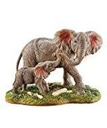 Mother and Baby Elephant Tabletop Figurine - $18.46