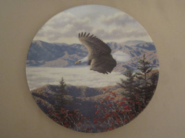BALD EAGLE collector plate MOUNTAIN MAJESTY Robert Richert AMERICA'S PRI... - $29.02
