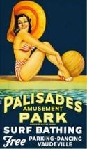 Palisades Amusement Park - New Jersey -  Magnet - $5.99