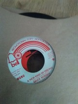 ,Set of 8 old rock and roll 45s that work and comes with a record holder... - $2.00