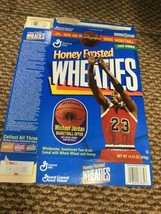 1998 Michael Jordan Honey Frosted Wheaties Box 14.75 oz Flat - $9.89