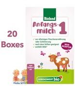 Holle Lebenswert Stage 1 Organic Baby Formula 20 Boxes 500g Free Shipping - $389.95