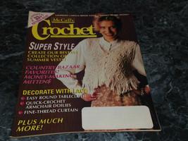 McCall's Crochet Patterns Magazine August 1995 Vol 9 No 4 Striped Scarf ... - $2.99