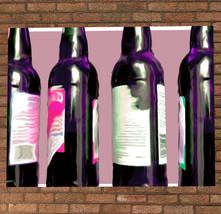 Beer Bottles Artwork Poster Print - Bar Artwork... - $11.99 - $49.99