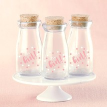 Its a Girl Vintage Milk Bottle Favor Jar (Set of 12)  - $34.99
