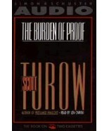 BRAND NEW FACTORY SEALED THE BURDEN OF PROOF  Scott Turow 2 Audio Casset... - $12.86