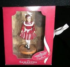Christmas Ornament American Girl Collection Samantha 1904 Red Dress Hall... - $19.99