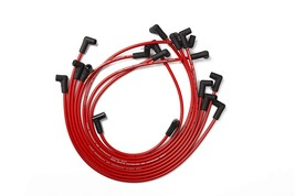 8.0mm Red Silicone Spark Plug Wires V6 V8 For Chevy Chevrolet GMC 4.3L 5.0L 5.7L