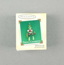 "Hallmark 2004 Keepsake Christmas Miniature Ornament ""Prince Charming"" Fr... - $9.89"