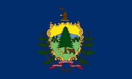 Valley Forge Flag 2-Foot by 3-Foot Nylon Vermont State Flag with Canvas ... - $27.06