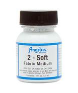 Angelus 2-Soft Fabric Medium Additive For Acrylic Paint 1 Oz. U-SOFT - $7.87
