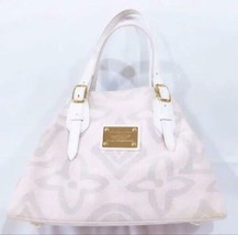 Auth Louis Vuitton Taicienne PM Monogram Tote Bag Pink Inner Pockets LVB0804 - $492.03