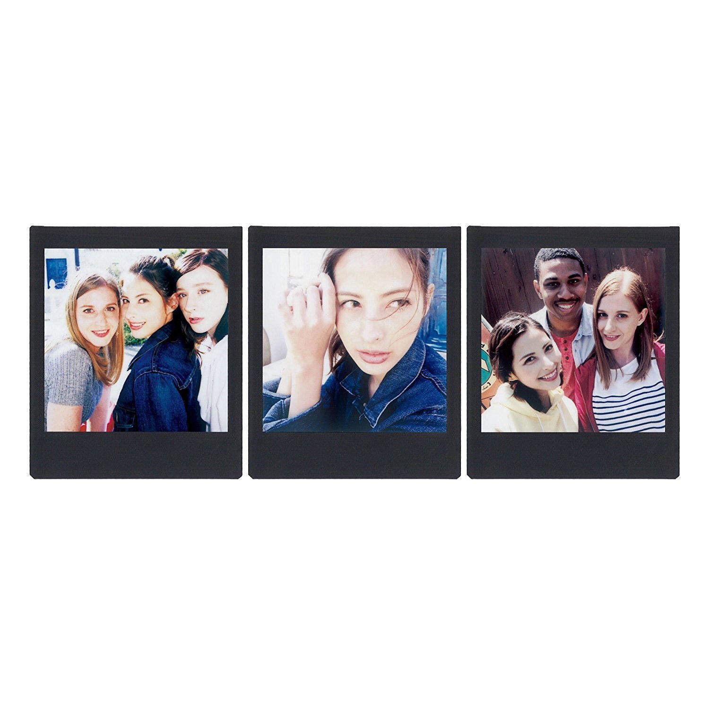 3 Packs 30 Photos Black Frame FujiFilm Instax SQUARE Film Polaroid Camera SQ6