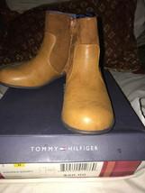 NWB! Tommy Hilfiger Andrea Short Cognac Style 1667348 Size 2M - $34.99