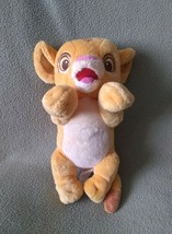 "DISNEY BABIES The Lion King SIMBA Plush Stuffed Animal 11"" NO BLANKET - $7.69"