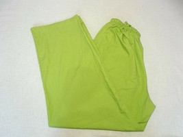 "Women Cassandra O Scrub Green pants INSEAM 29"" (Q) - $9.08"
