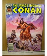 Marvel Magazine The Savage Sword of Conan #135 May 1987 - $5.39