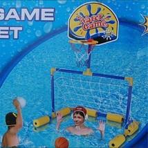 Piscine Football Basketball Jouets Extérieur 2en1 Enfants Ensemble Eau Jeu - $48.25