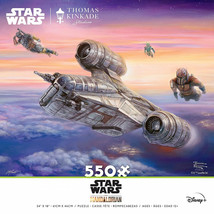 Star Wars The Mandalorian Being Escorted 550 Piece Puzzle Multi-Color - $19.98