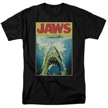 Jaws Movie Retro 70s 80s Amity Island Martin Brody graphic t-shirt UNI727 image 1