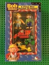 Bob the Builder - Holiday Ornaments - 5 piece Set - Kurt Adler - $5.65