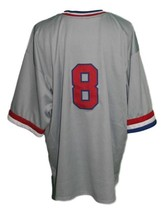 Huntsville Stars Retro Baseball Jersey Grey Any Size image 2