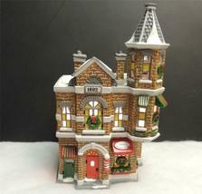 Department 56 Snow Village Jack's Corner Barber Shop-MIB - $24.75