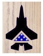 Air Force Lockheed Martin F-35 Lightning Ii Award Shadow Box Medal Display Case - $360.99