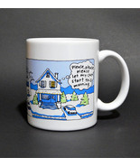 Hallmark Shoebox Greetings Snow Day Please Let My Car Start Coffee Cup Mug - $9.99
