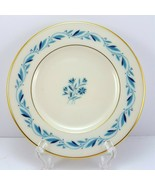 Lenox Blueridge Bread and Butter Plate Ivory Blue Floral Scrolls Gold Tr... - $8.91