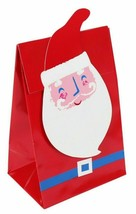 Eight 8 count Santa Holiday Candy Treat Bags NEW