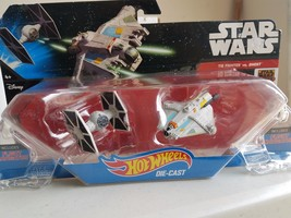 Hot Wheels Star Wars: The Force Awakens (TIE Fighter vs. Ghost) - $9.89