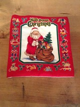 THE NIGHT BEFORE CHRISTMAS CLOTH BOOK IN EXCELLENT CONDITION            ... - $16.44