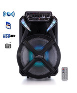 beFree Sound 12 Inch BT Portable Rechargeable Party Speaker - $91.22