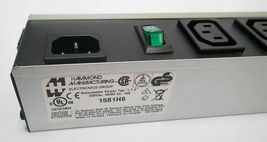 "HAMMOND 1581H6 IEC RELOCATABLE POWER TAP ""I.T.E"" 230V, 50/60 Hz, 10A, 230VAC image 8"