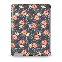 Hawaiian Dark Flowers Tablet Hard Shell Case - $29.99+