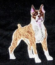 "Amazing Custom Dog Portraits [Boxer] Embroidery Iron On/Sew patch [2.5"" ... - $9.89"