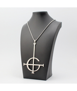 Ghost B.C. Nameless Ghoul Big Necklace Stainless Steel Pendant merch log... - $17.99
