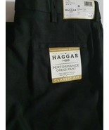 42x32 Haggar H26 Men's Performance 4 Way Stretch Classic Fit Trouser Pan... - $17.64