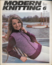 Modern Knitting for Machine Knitters Jun 1975 Magazine UK Maternity Wear... - $7.12