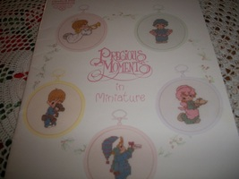 Precious Moments in Miniature Christmas Cross Stitch Booklet - $5.00