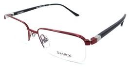 Starck Eyes Mikli Rx Eyeglasses Frames SH2018 0006 55x18 Red / Black Italy - $134.64