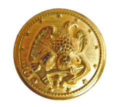 """Org Ralph Lauren gold color Metal Eagle Replacement Sleeve Pocket button .60"""" - $3.91"""