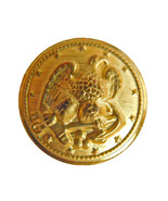 Org Ralph Lauren gold color Metal Eagle Replacement Sleeve Pocket button... - $3.83