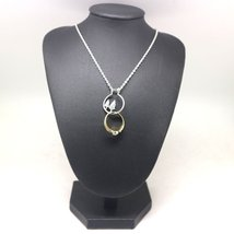 Silver Pine Tree Ring Holder Necklace image 5