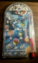 1960s Hasbro Pin Ball Game Space Planets Toy USA Made Collectible Vtg - $13.09