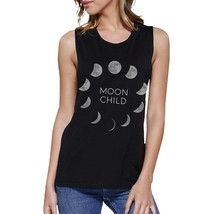 Moon Child Womens Black Muscle Top - $14.99