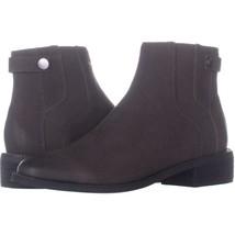 Franco Sarto Brandy Flat Casual Ankle Boots 355, Peat Leather, 5.5 US / 35.5 EU - $35.51