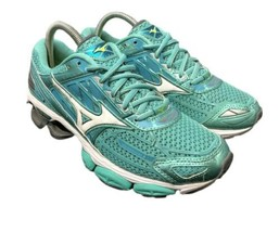 Mizuno Running Wave Creation 19 Teal Road Race Shoes Womens Size 8 Fast Ship - $53.90