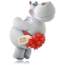 Hallmark QGO1037 2015 I Want a Hippopotamus for Christmas Ornament - $50.34
